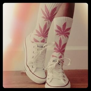 🌿🌿 Weed socks! Now in stock!